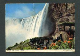 Canadá. ON - Niagara Falls. *The Observation Plaza...* Circulada 1974. - Cataratas Del Niágara