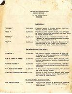 TOULOUSE  CINEMA   SELECTION CINEGRAPHIQUE  MAURICE ROUHIER  -  2 PAGES  DE FILM - France