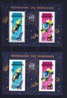 Burundi 1965 Blok Nr 7 Getand En Ongetand **, Zeer Mooi Lot K618 - Burundi
