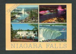Canadá. ON - Niagara Falls. *The Honeymoon -Capital Of The World...* Circulada 1987. - Cataratas Del Niágara