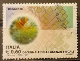 ITALIA 2011 Fiscal Agencies. USADO - USED. - 2011-...: Usati