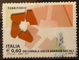 ITALIA 2011 Fiscal Agencies. USADO - USED. - 6. 1946-.. Repubblica