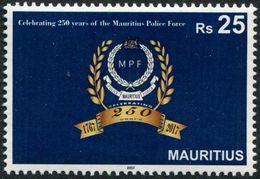 Mauritius 2017 - 250e Ann De La Force De Police - 1 Val Neuf // Mnh - Maurice (1968-...)