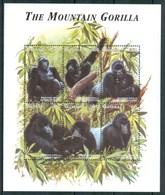 1998 Guiana Guyana Chimpanzee Scimmie Monkey Singes MNH** Ye77 - Guiana (1966-...)