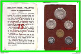 COLECCION DE PRUEBAS NUMISMATICAS ESPAÑOLAS AÑO 1975 - Sets Sin Usar &  Sets De Prueba