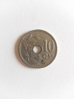 10 Centimes Münze Belgien 1926 (sehr Schön) - 1909-1934: Albert I