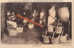 Champagne G. H. MUMM & Cie, Société Vinicole De Champagne, Succ. - Le Dégorgement - Vignes