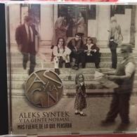 CD Argentino De Aleks Syntek Y La Gente Normal Año 1995 - Rock