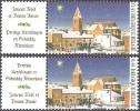 Belgique 2003 COB 3224 Complet Neuf ** Cote (2016) 2.40 Euro Noël Eglise D'Herbeumont - Belgique
