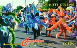 *ST. KITTS & NEVIS - 17CSKA* -  Scheda Usata - St. Kitts & Nevis