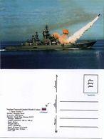 """Ship Postcards - Cruiser War  Ship """" Pyotr Veliky   """" Varinant  Read Description - Boten"""