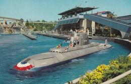 Postcard Submarine Ride Magic Kingdom Disneyland Disney Interest My Ref  B11822 - Disneyland