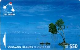 *ISOLE SALOMONE - 03SIE* - Scheda Usata - Solomon Islands