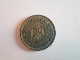 50 Francs Münze Aus Marokko 1951 (sehr Schön) - Marokko