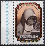 Rwanda 1976 Sc. 731  Sister Yohana - Prima Suora Del Rwanda - Nuovo MNH - Rwanda