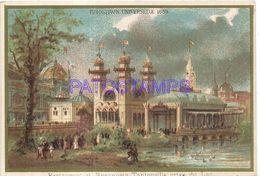 86057 FRANCE EXPOSITION UNIVERSAL 1889 RESTAURANT & BRASSERIE TANTONVILLE TAKING THE LAKE NO POSTAL POSTCARD - Ansichtskarten