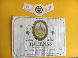 5710 -  Juliénas Compagnons Des Muids Du Roy 1989 - Beaujolais