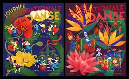 United Nations (Geneva) 2016 Mih. 942/53 (Bl.39/40) International Dance Day MNH ** - Nuovi