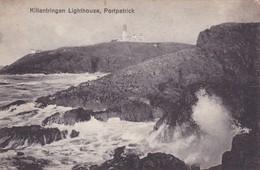 Postcard Killantringan Lighthouse Portpatrick My Ref  B11825 - Lighthouses