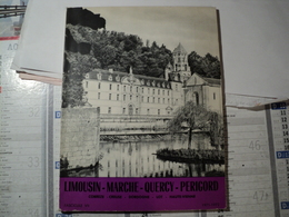 LIMOUSIN MARCHE QUERCY PERIGORD. 1971 / 72 CORREZE / CREUSE / DORDOGNE ... - Limousin