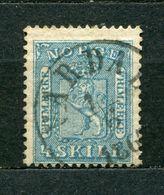 Norwegen Nr.8         O  Used       (885) - Gebraucht