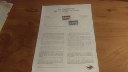 145/ 1973 N° 21 50 E ANNIVERSAIRE DES 24 HEURES DU MANS - Documentos Del Correo