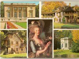 France & Circulated, Le Petit Trianon, Versailles, Lisboa Portugal 1980(325) - Monuments