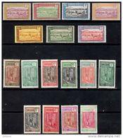 CAMEROON 1925/7 Definitives 17 Values Mint - Cameroun (1915-1959)