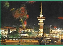 ! - Grèce - Thessaloniki - Tour D' O.T.E. - Vue De Nuit - Greece