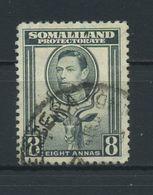 SOMALILAND  PROTECTORATE    1938    8a  Grey    USED - Somaliland (Herrschaft ...-1959)
