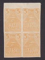 Estonia, Scott #27, Mint Hinged, Gull, Issued 1919 - Estland