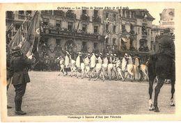 CPA N°18485 - ORLEANS - FETES DE JEANNE D' ARC 7 ET 8 MAI 1931 - HOMMAGE A JEANNE D' ARC PAR L' ARMEE (SAPHIS ALGERIENS) - Orleans
