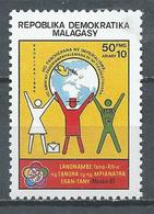 Madagascar YT N°743 Festival Mondial De La Jeunesse Neuf ** - Madagaskar (1960-...)