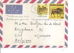 Burundi ( Lettre Par Avion De 1981 De Bujumbura Vers La Belgique à Voir) - Burundi