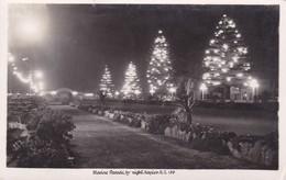 Postcard Marine Gardens By Night Napier New Zealand Interesting Message My Ref  B11828 - New Zealand