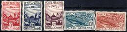 MOROCCO 1947 AIR 5 Values MINT - Marokko (1891-1956)