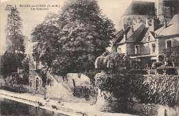 77 - MORET-sur-LOING - Les Remparts - Moret Sur Loing