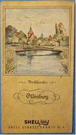 Ca.1938  Shell Straßenkarte Nr. 6 Oldenburg - Strassenkarten