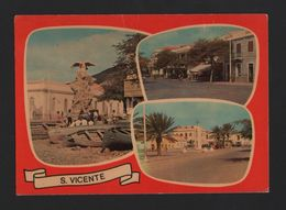 CAP VERT CABO VERDE 1960years Postcard SÃO VICENTE ISLAND  AFRICA AFRIKA AFRIQUE - Cap Vert