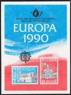 Belgium (1990) Post Offices. Scott Nos 1343-4.  Yvert Nos 2367-8. Deluxe Proof (LX79). - Proofs & Reprints