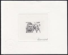 Monaco (2013) Aram Khatchaturian. Sabre Dance. Die Proof Signed By The Engraver LAVERGNE.  Scott No 2298. - Monaco