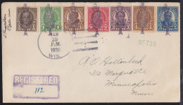 U.S.A. (1930) Poplars. Fancy Cancel From Poplar, Wisconsin.  Seven Strikes In Black Of A Poplar Tree Inscribed With The - Alberi
