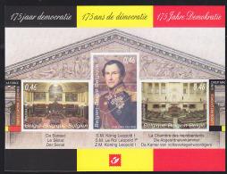 Belgium (2006) 175 Years Of Democracy. Deluxe Proof (LX95).  Scott No 2135. - Proofs & Reprints