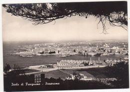 A173 ISOLA DI FAVIGNANA PANORAMA TRAPANI 1960 - Trapani