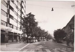 A186  GORIZIA CORSO ITALIA ANIMATA 1959 - Gorizia