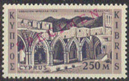 Cyprus (1962) Bella Paise Monastery. First Independence Issue Overprinted SPECIMEN.  Scott No 216, Yvert No 204. - Nuovi