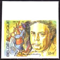 Belgium (1986) Felix Timmermans. Man Playing Bagpipes. Imperforate.  Scott No 1256, Yvert No 2227. - België