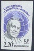 F.S.A.T. (1988) Rev-Father Lejay. Imperforate.  Scott No 134, Yvert No 133. - Geschnitten, Drukprobe Und Abarten