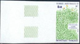 F.S.A.T. (1990) Ranunculus Pseudo Trollifolius. Imperforate.  Scott No 157, Yvert No 154. - Geschnitten, Drukprobe Und Abarten