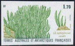 F.S.A.T. (1988) Elephant Grass. Imperforate.  Scott No 133, Yvert No 131. - Geschnitten, Drukprobe Und Abarten